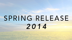 Spring Release 2014