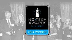 NC Tech Awards 2014 Winner