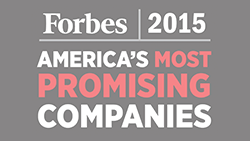 Forbes 2015 America's Most Promising Companies