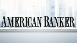 American Banker logo and background image