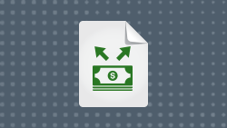 Whie paper icon; Lending