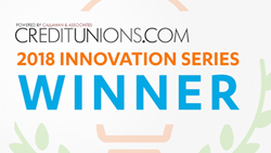 Creditunions.com 2018 Innovation Series Winner