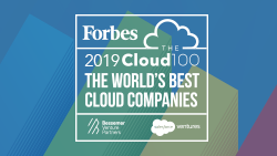 Forbes Cloud 100 2019